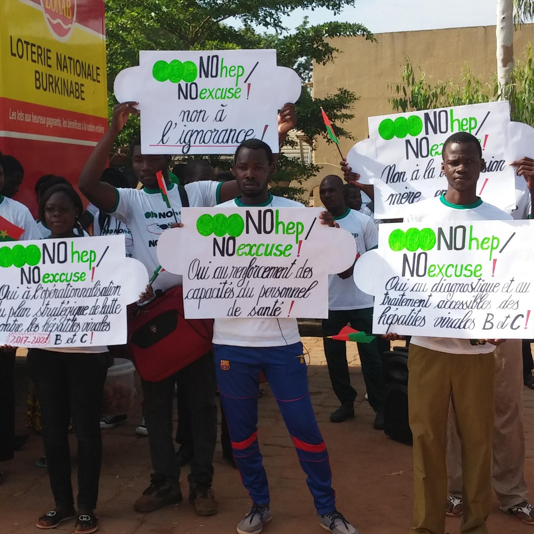 NOhep Supporter Spotlight: SOS Hépatites Burkina